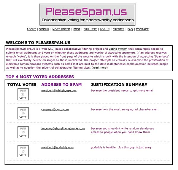 PleaseSpamUs